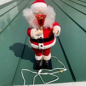 Animated and illuminated Santa Claus Never Used!